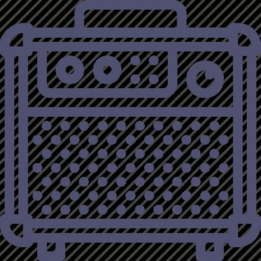 amp, amplifier, audio, guitar, music, sound, speaker icon