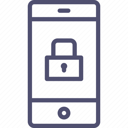 ecnryption, iphone, lock, mobile, password, phone, protection, security, smartphone icon