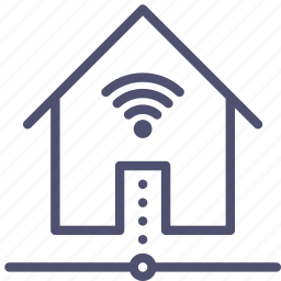connect, connection, home, house, internet, wifi icon