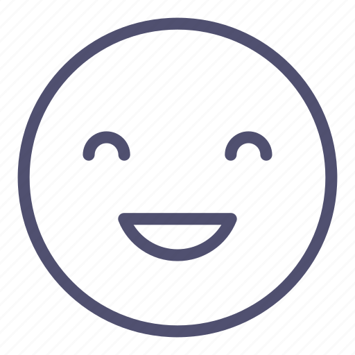 Emoji, happy, smile icon - Download on Iconfinder