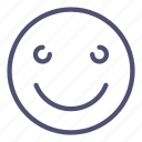 emoji, happy, smile icon