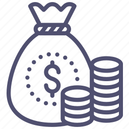 bag, cash, coins, gold, money, wealth icon