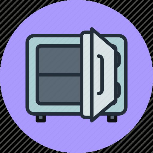 Deposit, money, open, safe, strongbox icon - Download on Iconfinder