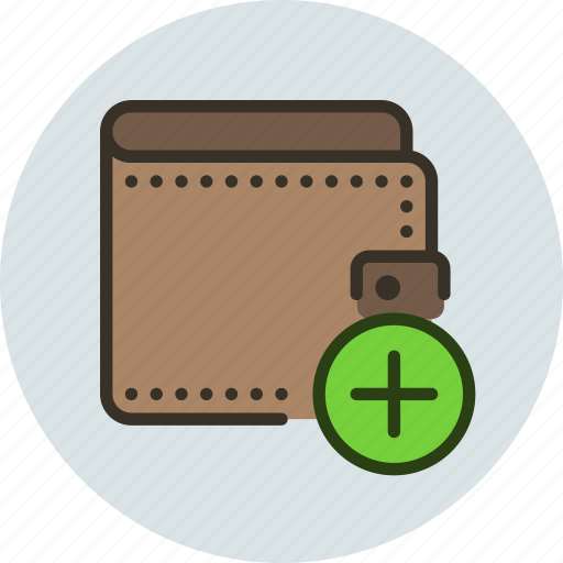 add, cash, money, pay, payment, wallet icon