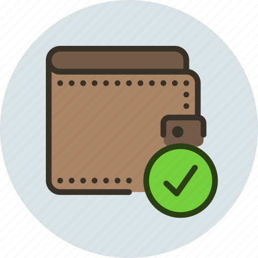 cash, check, money, pay, payment, wallet icon