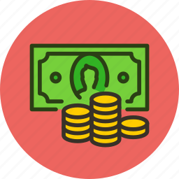 cash, coin, coins, currency, finance, money icon