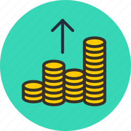 cash, cashout, coin, currency, finance, gold, money, out icon
