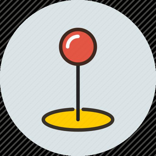 coordinate, gps, locate, location, map, marker, pin icon