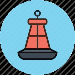 buoy, marine, marker, nautical icon