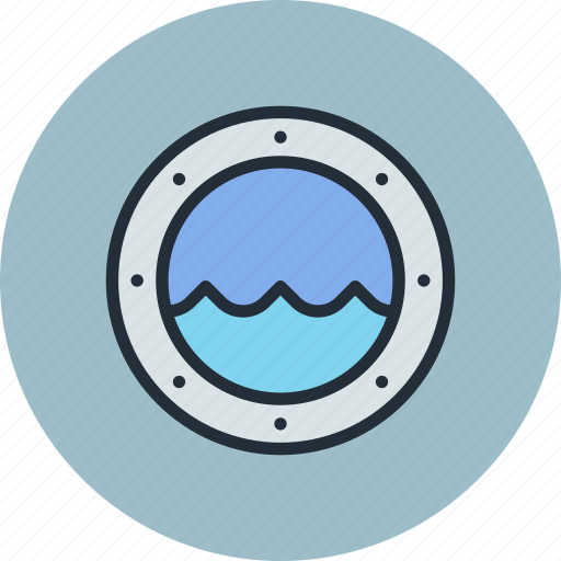 Porthole, ship, view, window icon - Download on Iconfinder