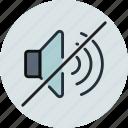 volume, mute, no sound, turn off