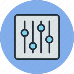 configuration, controls, options, preferences, set, settings, tune, tuning icon