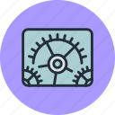 configuration, gears, options, preferences, set, settings, tune, tuning icon