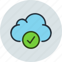 data, storage, check, cloud, aprove