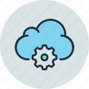 cloud, data, settings, storage icon