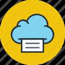 cloud, data, file, files, print, storage