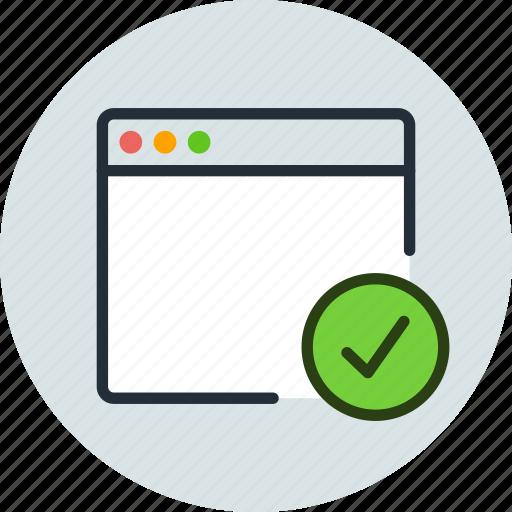 app, application, aprove, check, mac, window icon