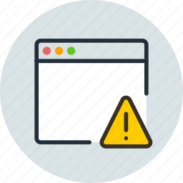 alert, app, application, mac, warning, window icon