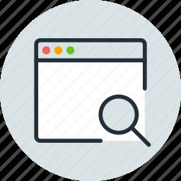 app, application, mac, search, window icon