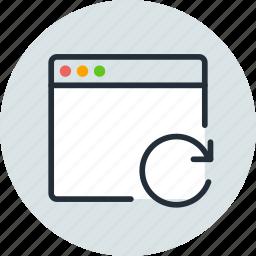 app, application, mac, refresh, reload, window icon
