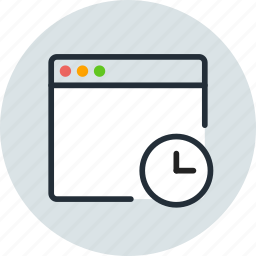 app, application, date, history, mac, time, window icon
