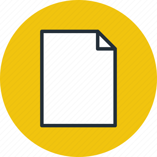 document, file, page, paper, portrait, sheet, vertical icon