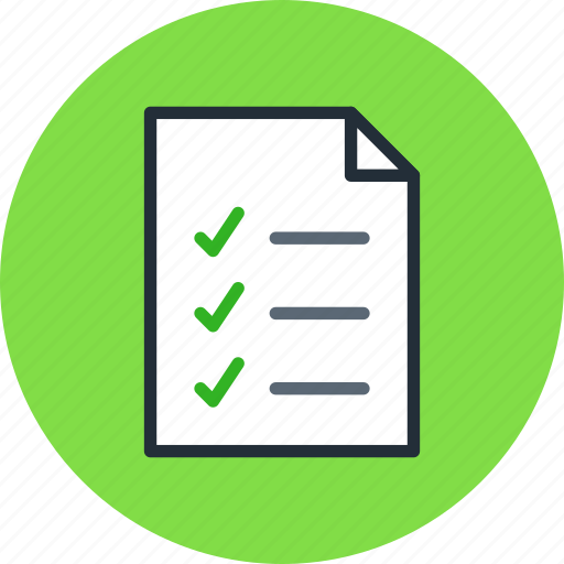 document, file, page, paper, sheet, text, todo icon