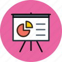 analytics, board, deck, diagram, presentation, promo, statistics, stats icon