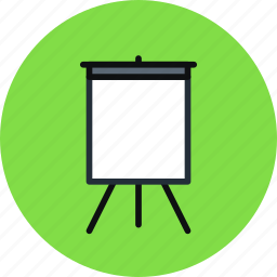 art, board, deck, easel, presentation, promo, stand icon