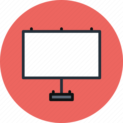 adv, advertise, board, presentation, promo, road, stand icon