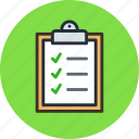 buffer, clipboard, to do list icon