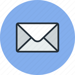 email, envelope, mail, message icon