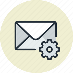 email, envelope, mail, message, remove, settings icon