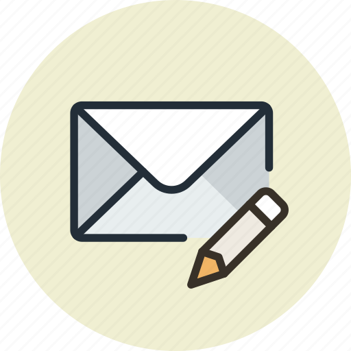 compose, edit, email, envelope, mail, message, write icon