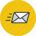 email, envelope, mail, message, send icon