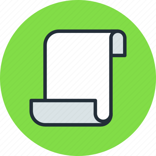 document, file, log, page, script, sheet icon
