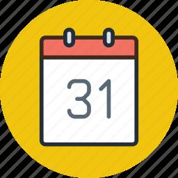 calendar, date, event, month, schedule, year icon