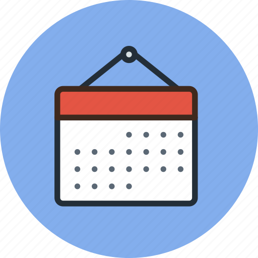 calendar, date, event, month, schedule, year icon