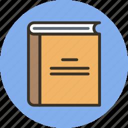 book, library, read icon