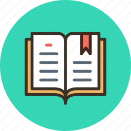 book, bookmarks, education, history, journal, log, logbook, read icon