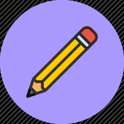 carandache, edit, eraser, kohinor, pencil, tool icon