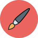 brush, paintbrush, tassel, tool icon