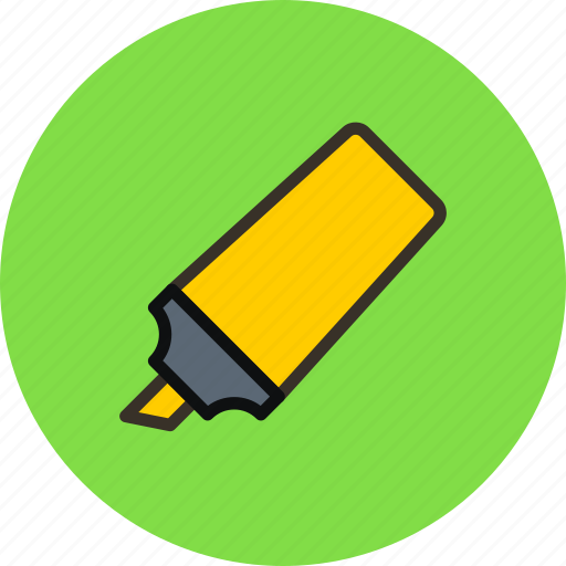 Felt, marker, pen, tip, tool icon - Download on Iconfinder