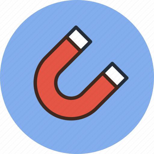 Attraction, field, grid, magnet, magnetic, mode, snap icon - Download on Iconfinder