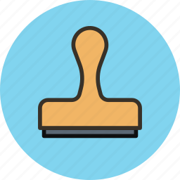 clone, press, stamp, tool icon