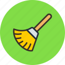 broom, clean, clear