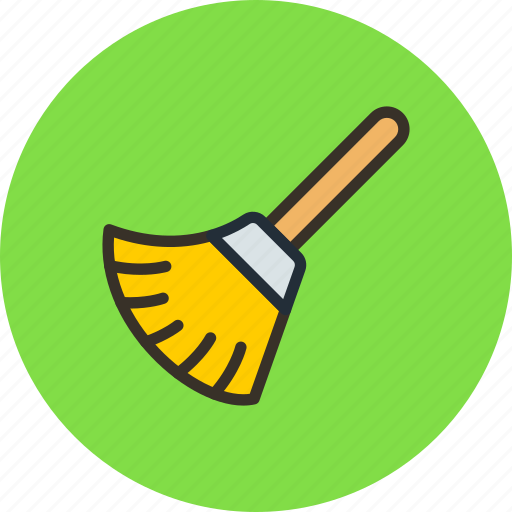 Clear, broom, clean icon
