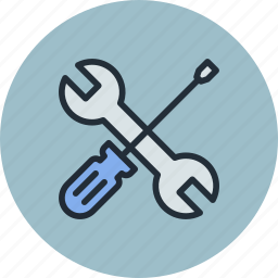options, preferences, screwdriver, tool, tune, tuning, wreck icon