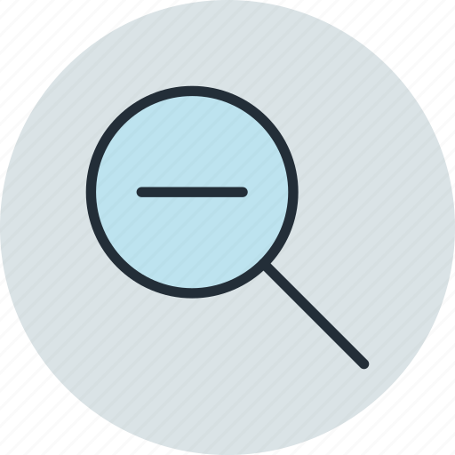 Lense, out, search, tool, zoom icon - Download on Iconfinder