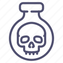 halloween, poison, potion icon